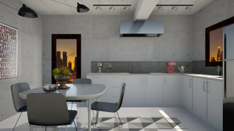 Grapico Kitchen - Modern - Kitchen  - by 3rdfloor