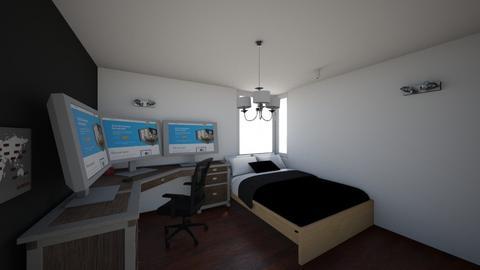 mi habitacion - Modern - Bedroom  - by santiago romeros ss