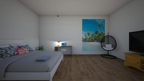 teen bedroom - Bedroom - by ellen_brooklyn