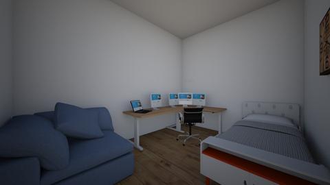 ComputerSleepingRoom - Modern - Bedroom  - by zeacer123