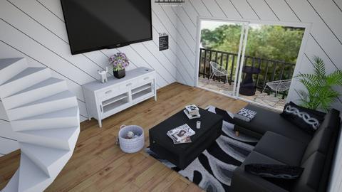 Midnight - Living room - by DaijanaB