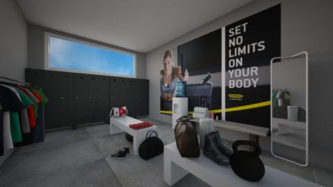 Gym Locker Room - by Chrispow0105