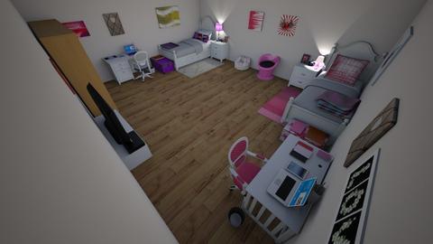 Girls dorm - Bedroom - by Paigie6