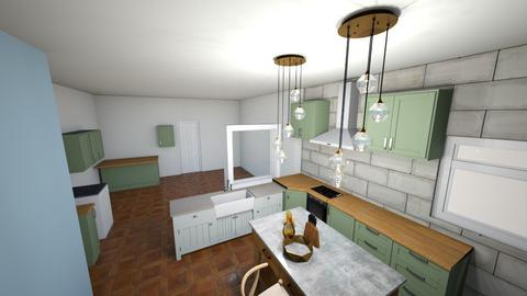 cocina - Kitchen  - by yuki13