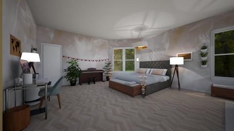 Haring Oak - Modern - Bedroom - by Complete_Cookie