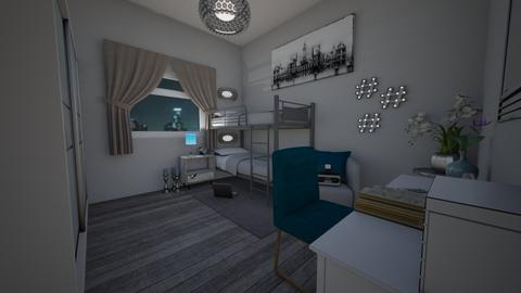 Small Bedroom 31 - Modern - Bedroom  - by Khayla Simpson