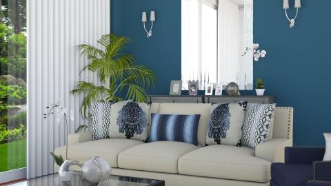 Living Hall Area V2 Zoom2 - Minimal - Living room  - by Ejad Shukri