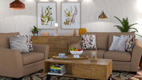 M_ Fern - Living room  - by milyca8