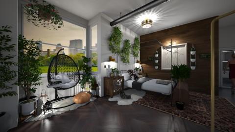 Boho - Eclectic - Bedroom  - by blkbohemian