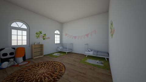mansion twins room - Kids room - by cinderella1111