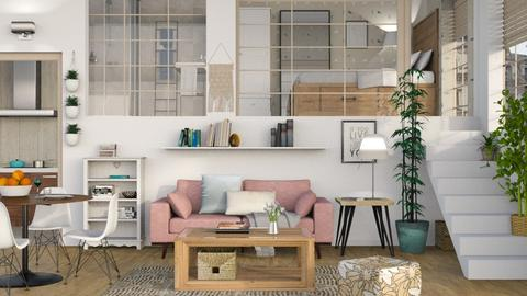 One Room Apartment 5 - Eclectic - Living room - by Sally Simpson