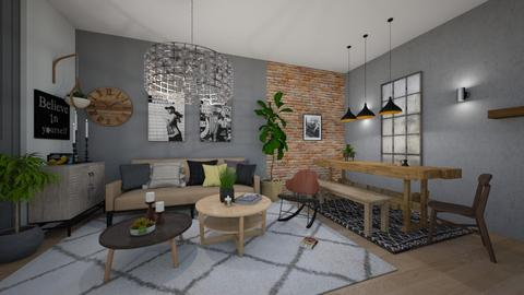 young people appartement - by efivardi