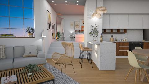 single apt malibu - Living room  - by diegobbf