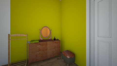 Hippy hus - Retro - Bedroom  - by Lisa2820