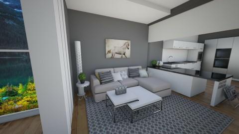 living - Modern - Living room  - by yasamanmahmoodi