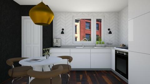 Modern Chic Kitchen - Modern - Kitchen  - by 3rdfloor