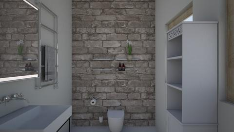 bathroom - Bathroom - by roomplanner18
