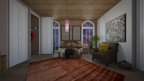 Stormy Day Bedroom - Eclectic - Bedroom  - by Drama Llama