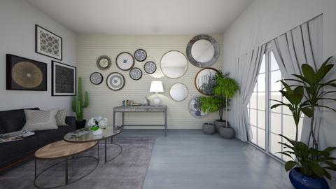 BeeStyleLivingRoom - Eclectic - Living room  - by MyDesignIdeas