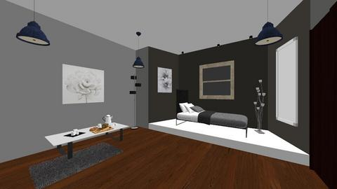 modern room - Bedroom  - by XenaRose