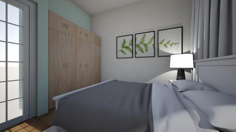 Bedroom 2 Brown - Modern - Bedroom  - by MartaZR