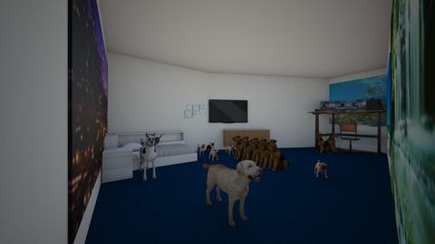 dog bedroom - Feminine - Bedroom  - by suiii