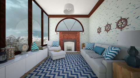 sea room - Country - Living room  - by nuray kalkan