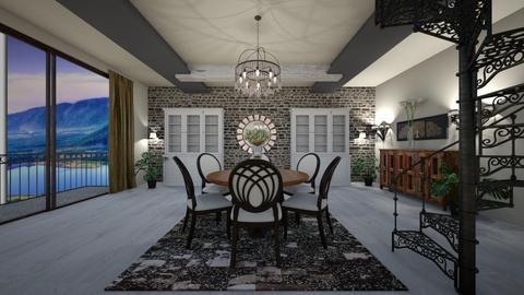 SBr - Modern - Dining room - by Saj Trinaest