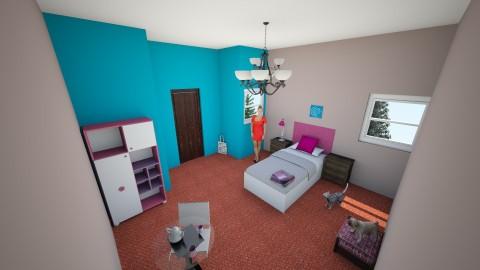 Room - Bedroom  - by ravioli_megg877