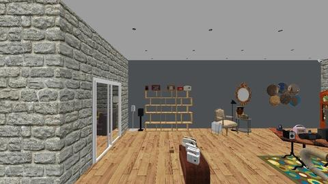 Interior tienda - Vintage - by rebecaGV2A