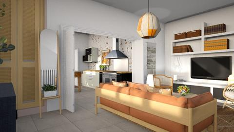 Small tiled - Modern - Living room  - by augustmoon