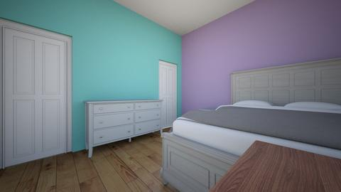 My first design - Bedroom  - by The_ReAlMe615
