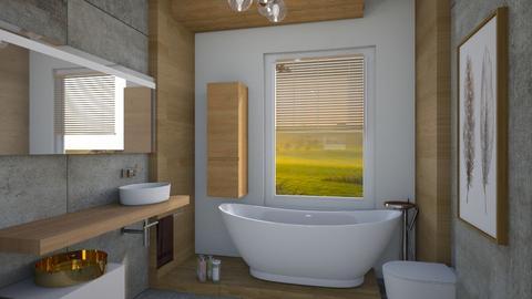 matczyn bath - Bathroom  - by ewcia3666