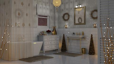 Christmas Bath - Bathroom  - by GraceKathryn