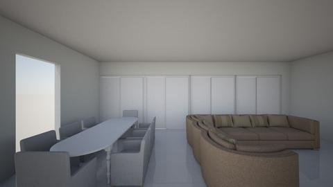 living_room01 - Modern - Living room  - by stel_k