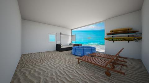 beach bedroom - by cb28026