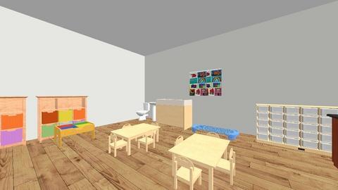 Preschoolers Room - by Nedasabbagh