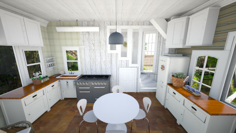 Summer at the dacha - Rustic - Kitchen  - by shp100