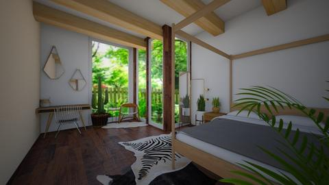 Mixed woods - Bedroom - by eby_bond