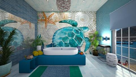 nautical themed bathroom - by ilcsi1860
