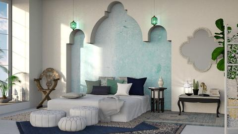Agadir - Bedroom - by sabaclayes