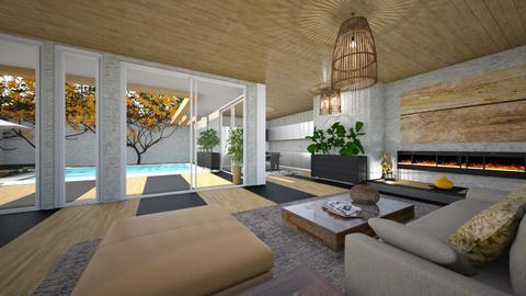 Japan - Living room - by rosanebpf