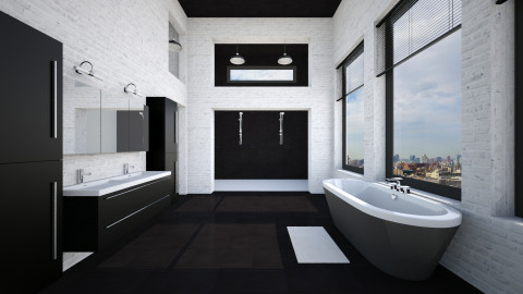 Bathroom - Modern - Bathroom  - by kingjackie51