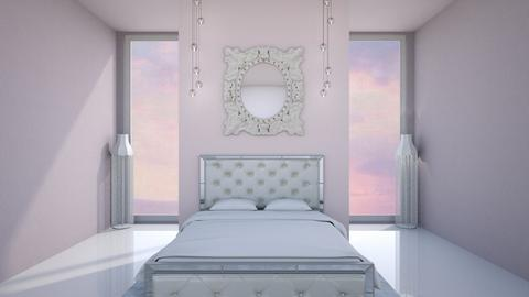 simpe pink purple - Bedroom  - by karisahsalim