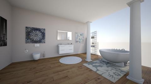 flower shower - Bathroom  - by 7087755443