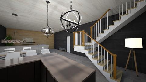 casita  - Living room  - by pozolexbarato