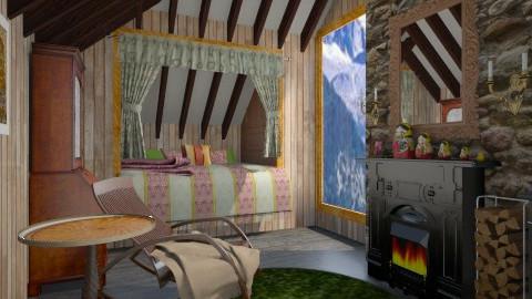 cabin - Rustic - by donella