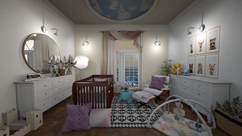 Parisian baby nursery - Classic - Kids room  - by Giuiulai
