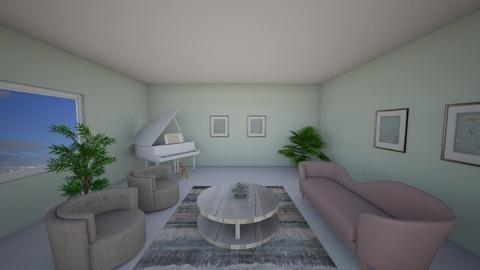 Blurry Living - Feminine - Living room  - by LSDESIGNS