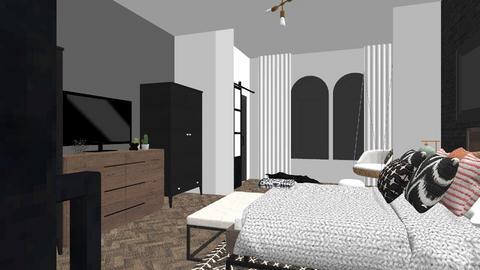 Main Bedroom rev 2 - Eclectic - Bedroom - by FrankieRocks